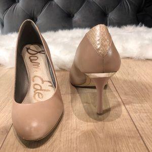 Sam Edelman nude heels size 8.5
